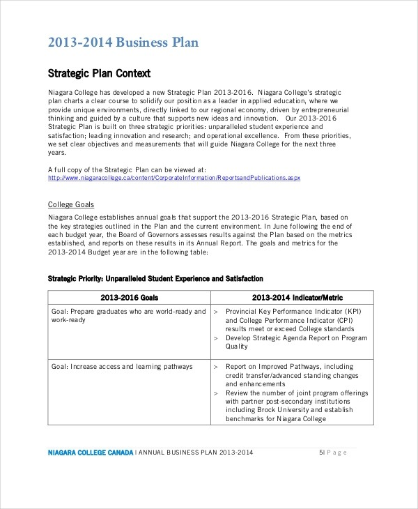 business plan template examples  26+ Business Plans - Free Sample, Example, Format | Free ..