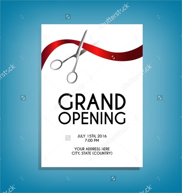 grand opening flyer template  28+ Grand Opening Flyer Templates - PSD, Docs, Pages, Ai - grand opening flyer template