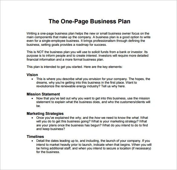 business plan template pdf free download  29+ Business Plan Templates - Sample Word, Google Docs ..