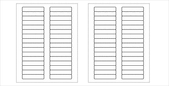labels template free  31+ Free Label Templates - Free Word, PSD, PDF Format ..