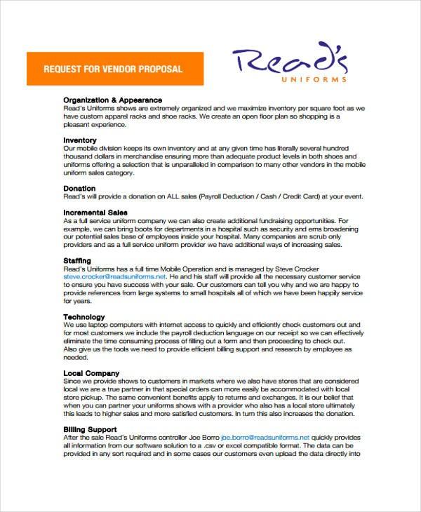 uniform proposal template  33+ Proposal Formats | Free & Premium Templates - uniform proposal template