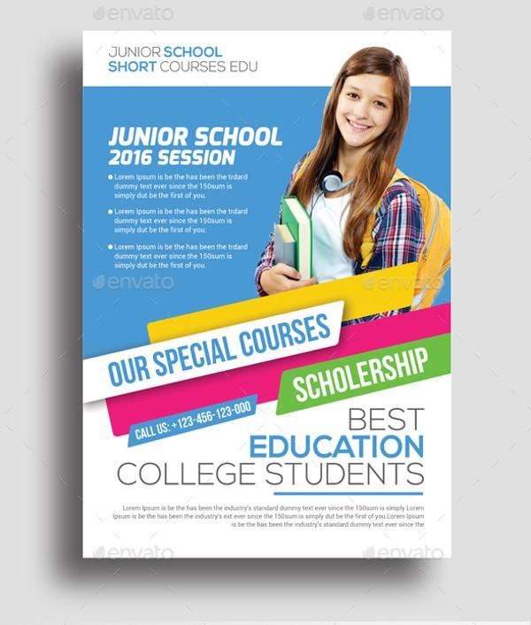 flyer template education  35+ Amazing Education Flyer Templates & Creatives - PSD ..