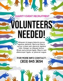 volunteer recruitment flyer template  450+ Customizable Design Templates for Help Wanted ..