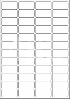 novajet labels 8 templates  8% OFF on Novajet 48 A4 Size Sticker Paper Self-adhesive ..