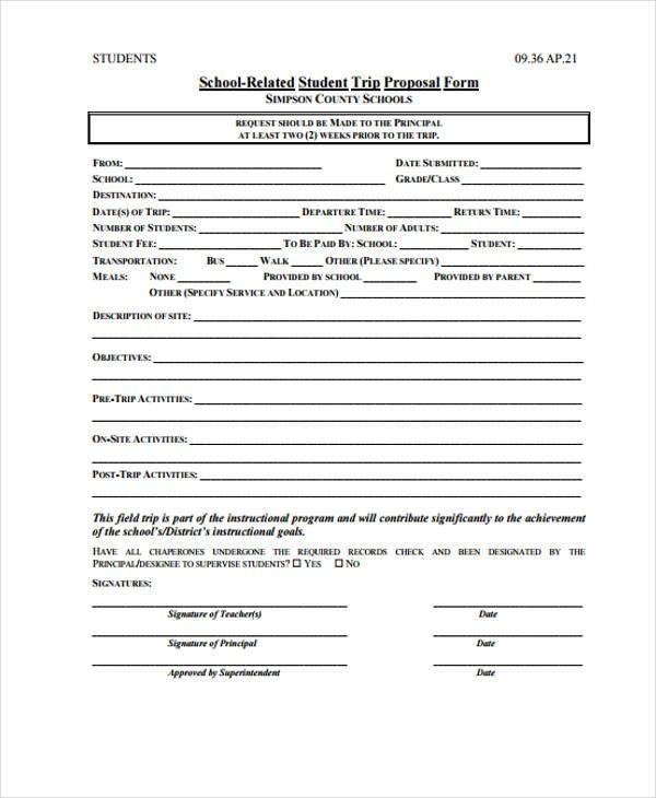 uniform proposal template  9+ School Proposal Templates - Free Samples, Examples ..