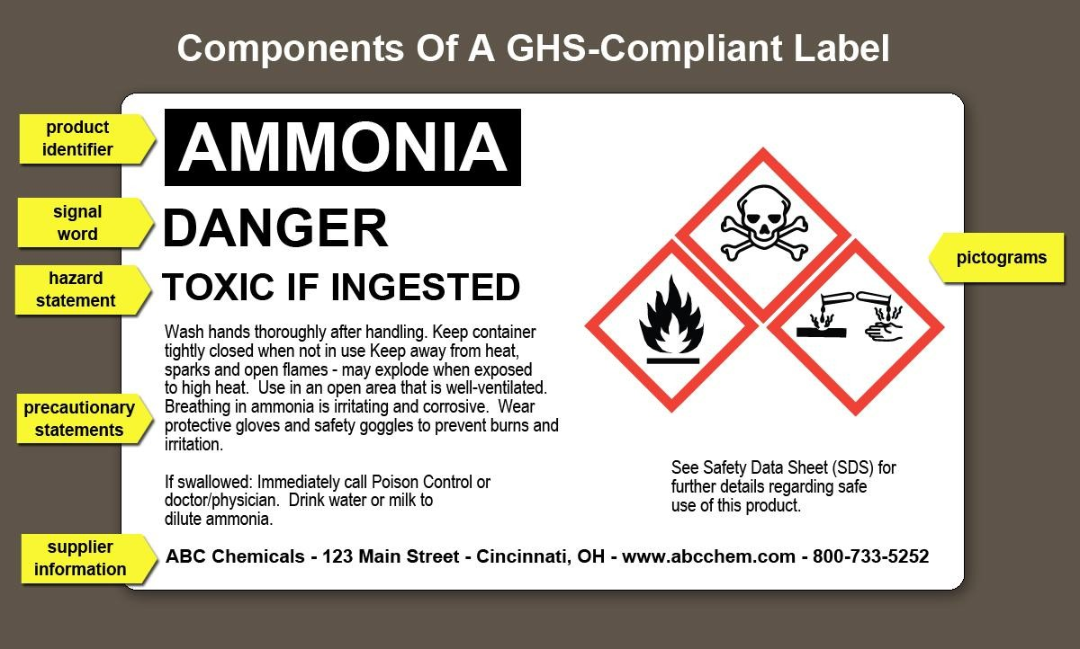 chemical labels template  Basic Chemical Safety – MAX IV - chemical labels template