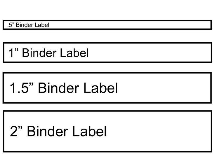 ring binder labels template  binder label template   wordscrawl.com   Binder spine ..