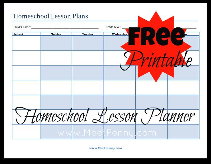 lesson plan template homeschool  Blueprints: Organizing Your Homeschool Lesson Plans - Meet ..