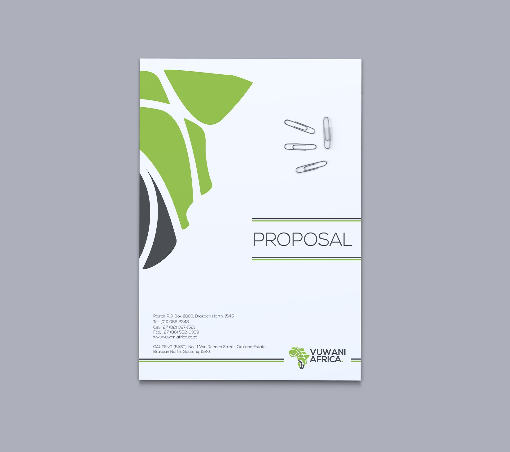 proposal template cover page  Branding Stationery List - BWD - proposal template cover page
