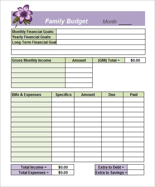 budget template word document  Budget Template - 9+ Download Free Documents in Word ..