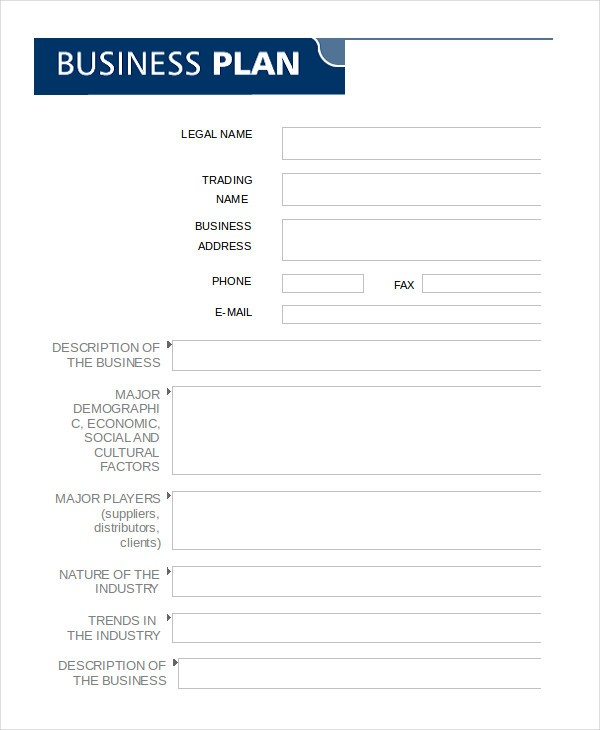 blank business plan template word  Business Plan Template Word Pictures to Pin on Pinterest ..