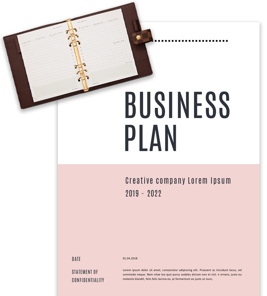 business plan cover page template free  Business Plan Templates in Word for Free - business plan cover page template free