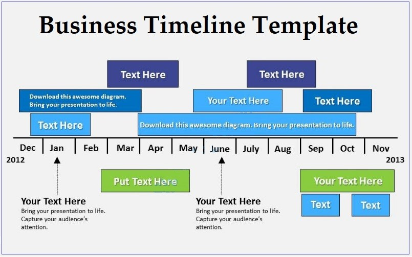 business plan timeline template  Business Timeline Templates | 4+ Free Word, PDF and Excel - business plan timeline template