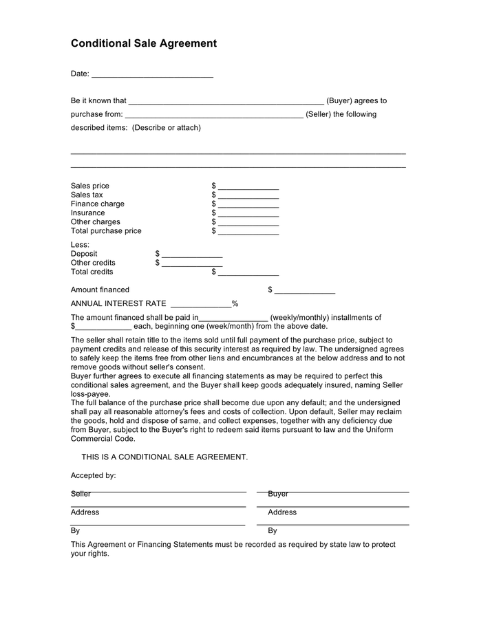 sales contract template doc  Car Purchase Agreement - download free documents for PDF ..