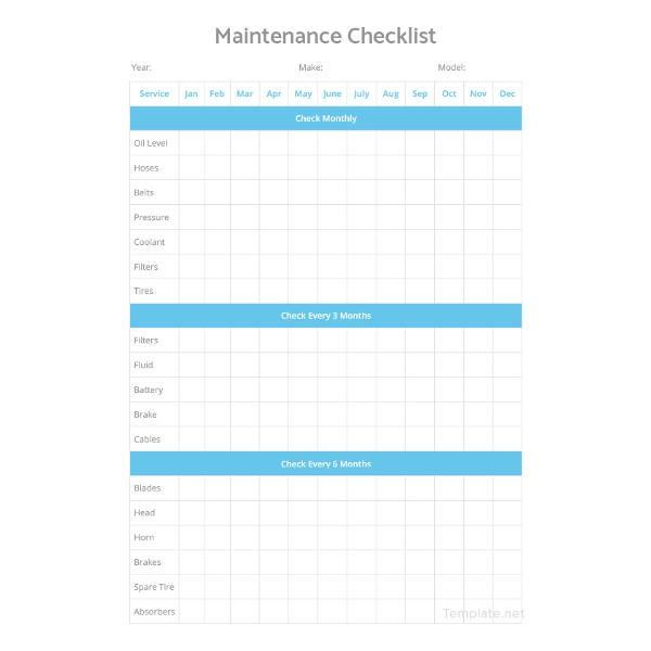 checklist template adobe  Checklist Template - 15+ Free Word, Excel, PDF Document ..