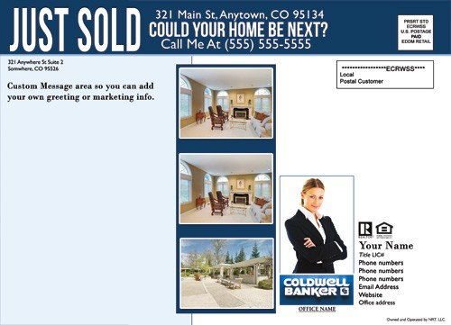 just sold flyer template  Coldwell Banker EDDM Just Sold Template 2 - Cheap Price - just sold flyer template