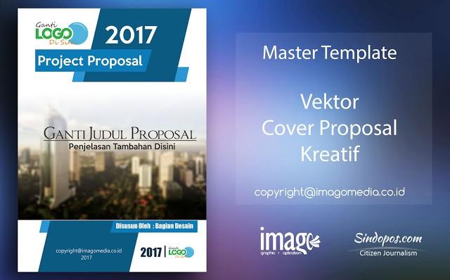 template proposal kreatif  Contoh Cover Proposal Yang Keren - Contoh Sur - template proposal kreatif
