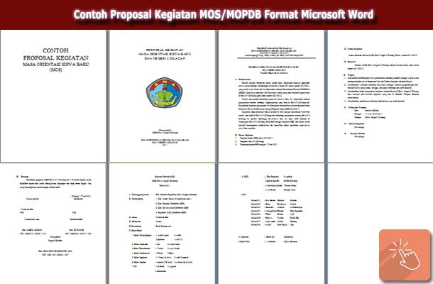 template proposal kegiatan  Contoh Proposal Kegiatan MOS/MOPDB Format Microsoft Word - template proposal kegiatan