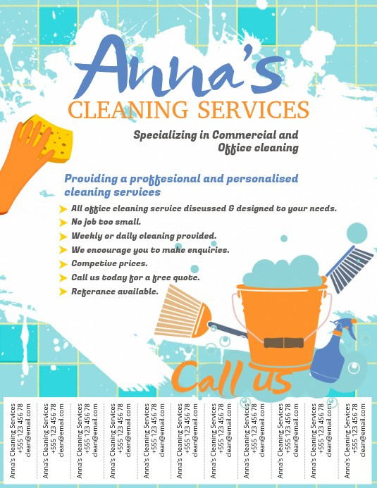 flyer template cleaning companies flyers  Copy of Cleaning Service Flyer Template | PosterMyWall - flyer template cleaning companies flyers
