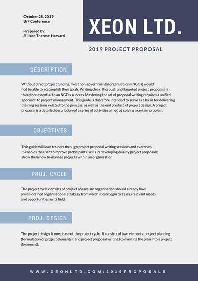 proposal layout template  Customize 201+ Proposal templates online - Canva - proposal layout template