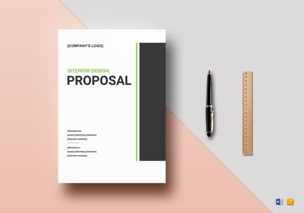 proposal template design free  Design Proposal Template - 20+ Free Word, Excel, PDF ..