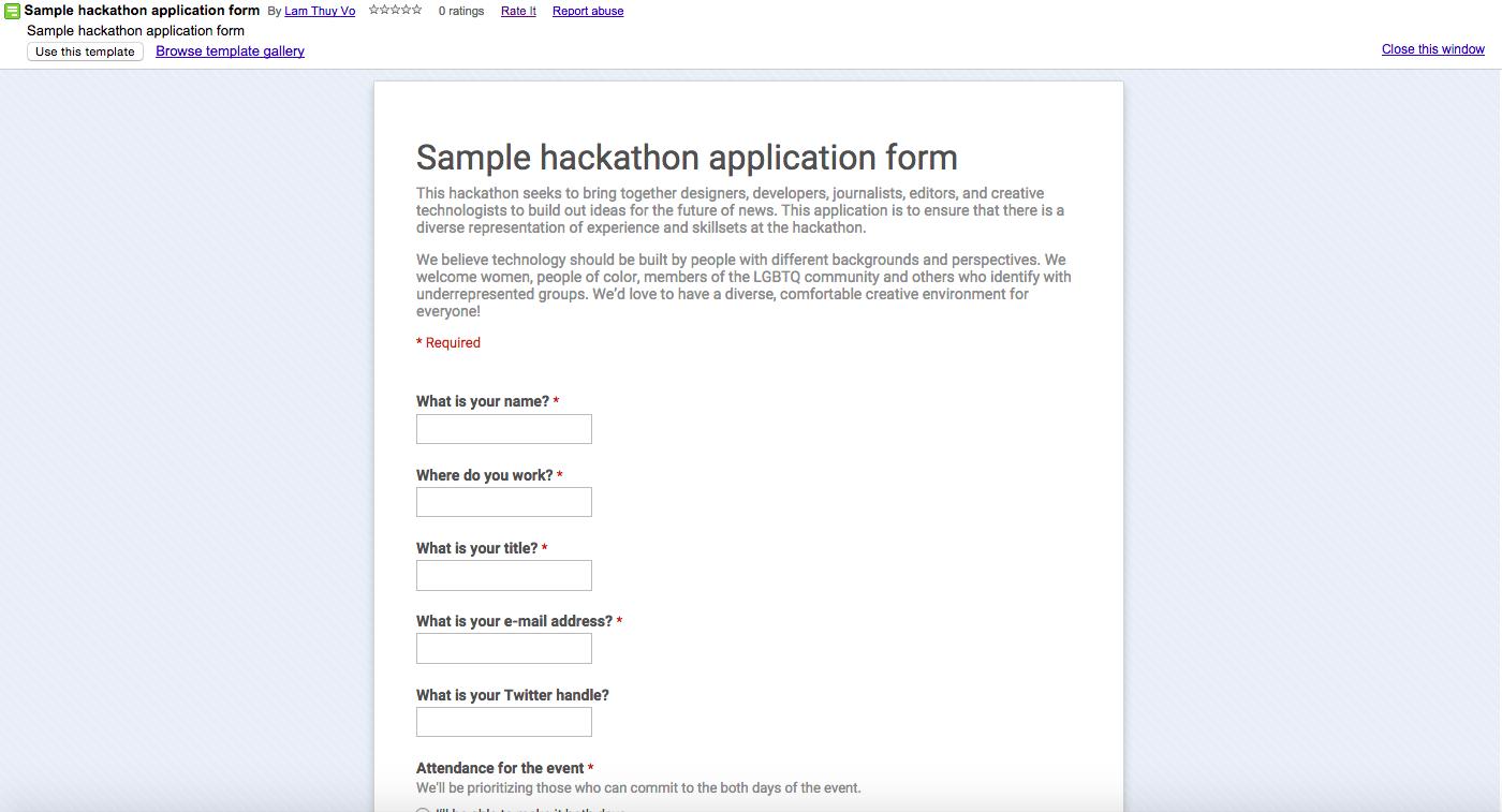 hackathon proposal template  Designing hackathons – Lam Thuy Vo – Medium - hackathon proposal template