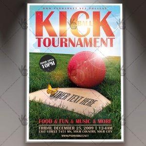 free kickball flyer template  Download Kickball Tournament Flyer - PSD Template | PSDmarket - free kickball flyer template
