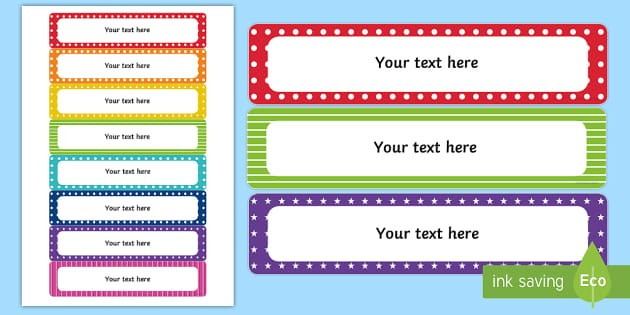school drawer labels template  Editable Classroom Gratnell Tray Labels - Back to School - school drawer labels template