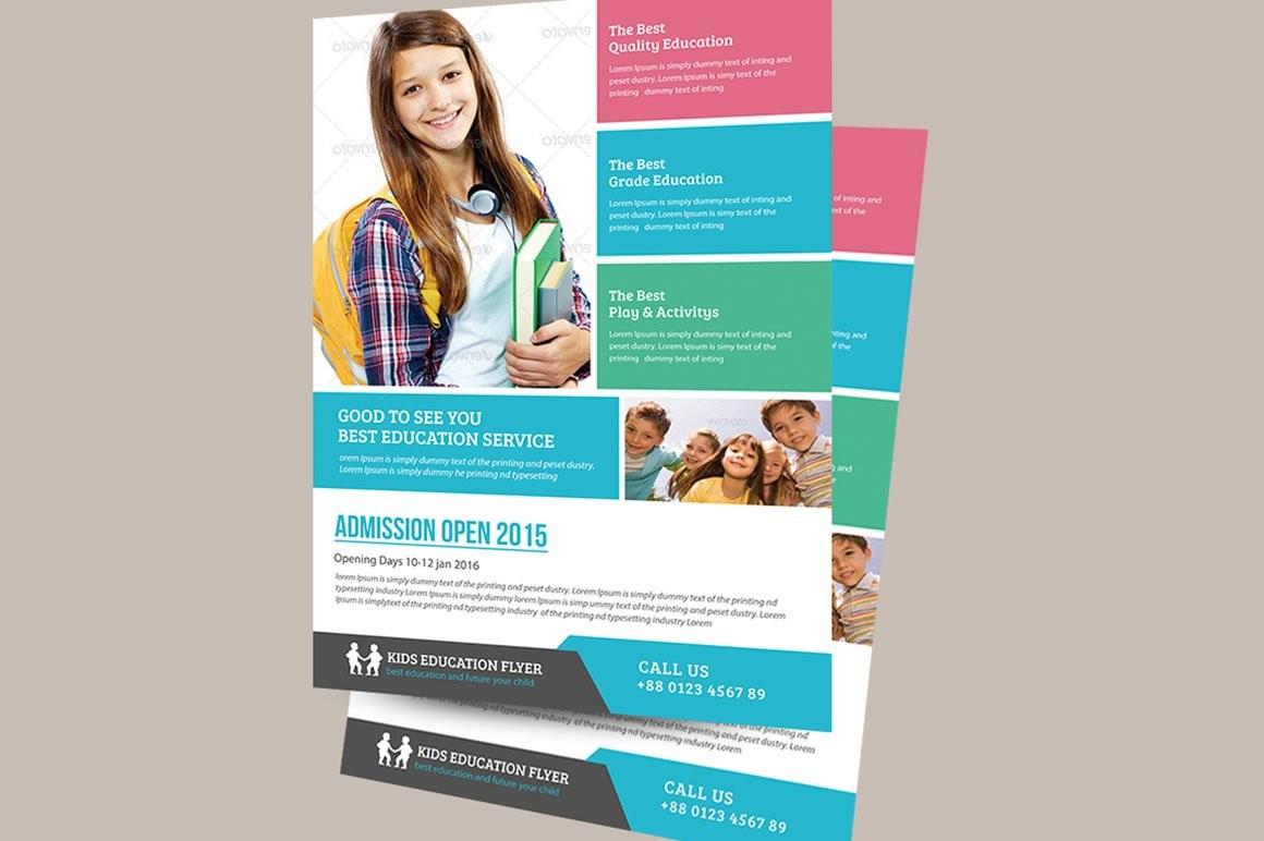 flyer template education  Education Flyer Template ~ Flyer Templates ~ Creative Market - flyer template education