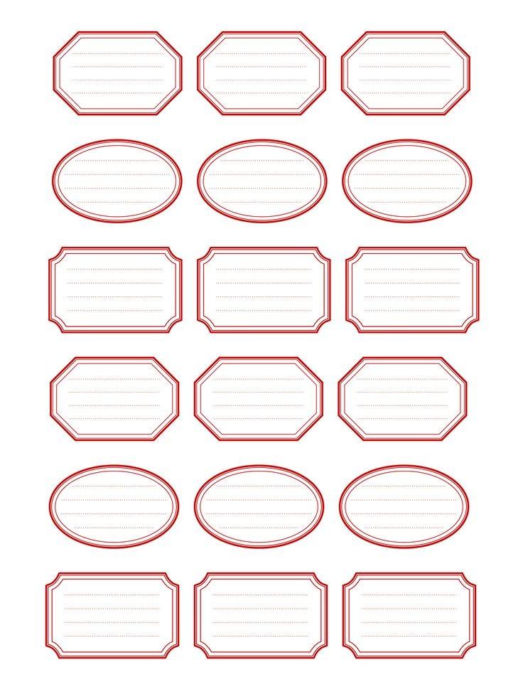 free printable labels template  etiquettes imprimables | Free Printable Vintage Label ..