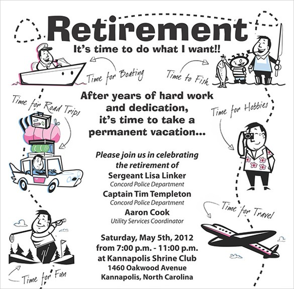 flyer template for retirement party  FREE 12+ Retirement Party Flyer Templates in AI   PSD ..