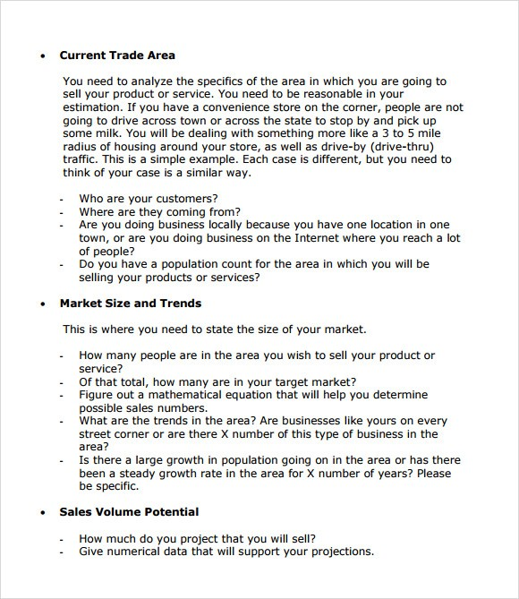 business plan template examples  FREE 21+ Simple Business Plan Templates in PDF | Word | PSD - business plan template examples