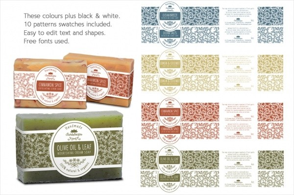 soap labels template  FREE 22+ Soap Label Designs in PSD | Vector EPS - soap labels template