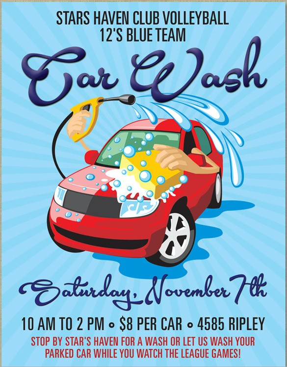 car wash flyer template  FREE 26+ Car Wash Flyers in MS Word | PSD | AI | EPS ..