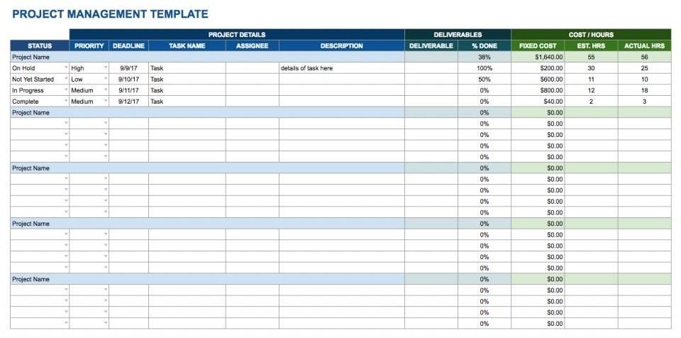 checklist template google sheets  Free Google Docs and Spreadsheet Templates Smartsheet - checklist template google sheets