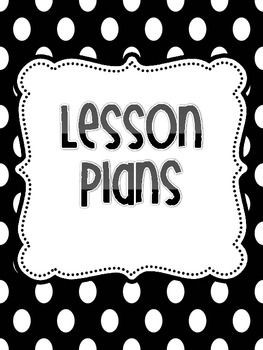 lesson plan template blank  Free Lesson Plan Binder Covers | Classroom Organization ..
