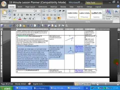 downloadable yoga lesson plan template  FREE Yoga Lesson Plan Template - YouTube - downloadable yoga lesson plan template