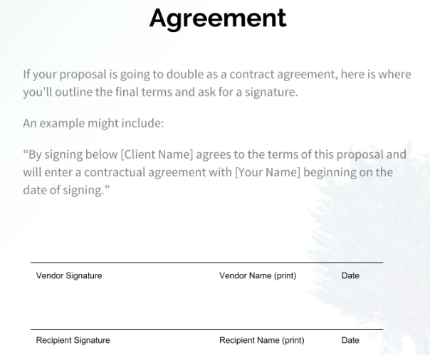 joke contract template  How to Write a Business Proposal in 6 Steps [+ Free Template] - joke contract template