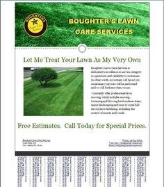 lawn care flyer template  Lawn Care Flyer Free Template   Lawn Care Business ..