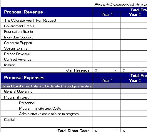 line budget template  Line Item Budget Template - line budget template