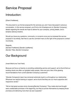 uniform proposal template  Medical & Healthcare Related Proposal Templates [8 FREE ..