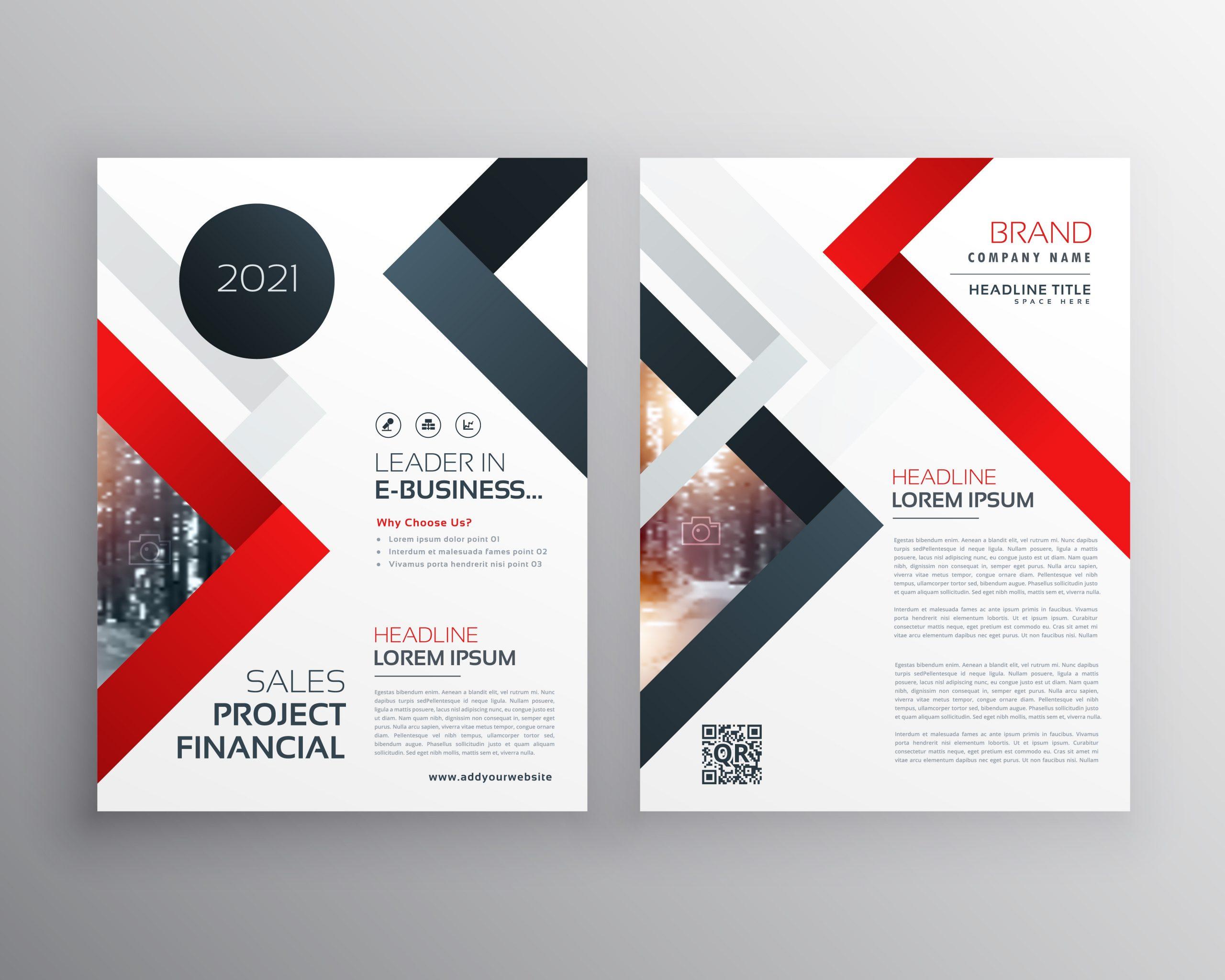 flyer template design  modern business brochure flyer template design - Download ..