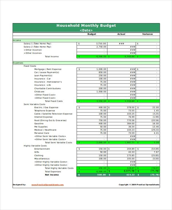excel budget template uk  Monthly Household Budget Spreadsheet , Excel Monthly ..