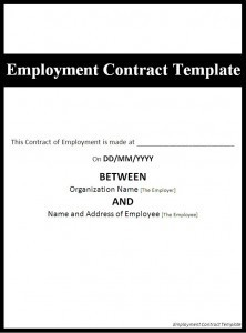 part time contract template  MS Office Templates - Part 2 - part time contract template