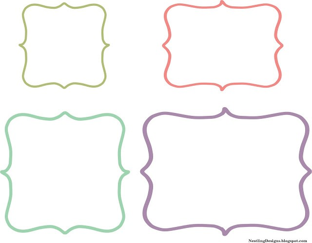 labels template free  Nestling: Friday Freebie :: DIY Chalkboard Labels - labels template free