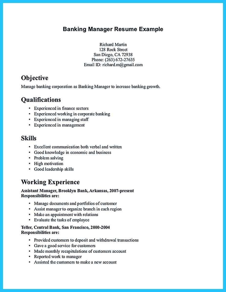 bank manager business plan template  nice Starting Successful Career from a Great Bank Manager ..