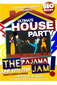 house party flyer template  Party Flyer Templates | PosterMyWall - house party flyer template
