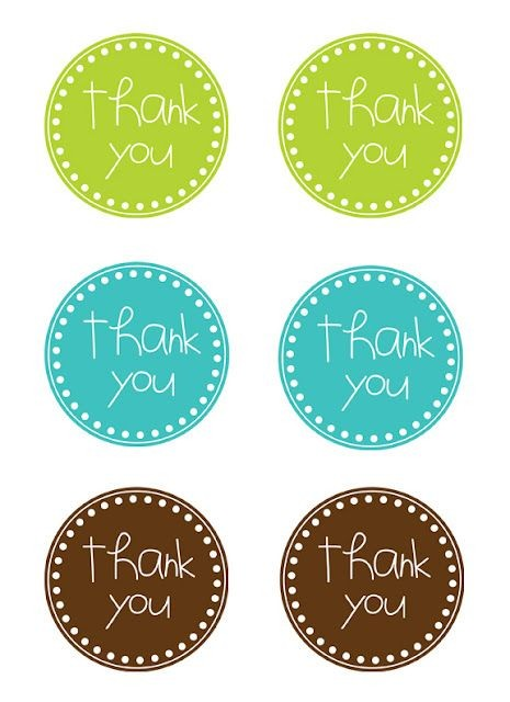thank you labels template  Photo Case Gift + Free Printable Tags | Free printable ..