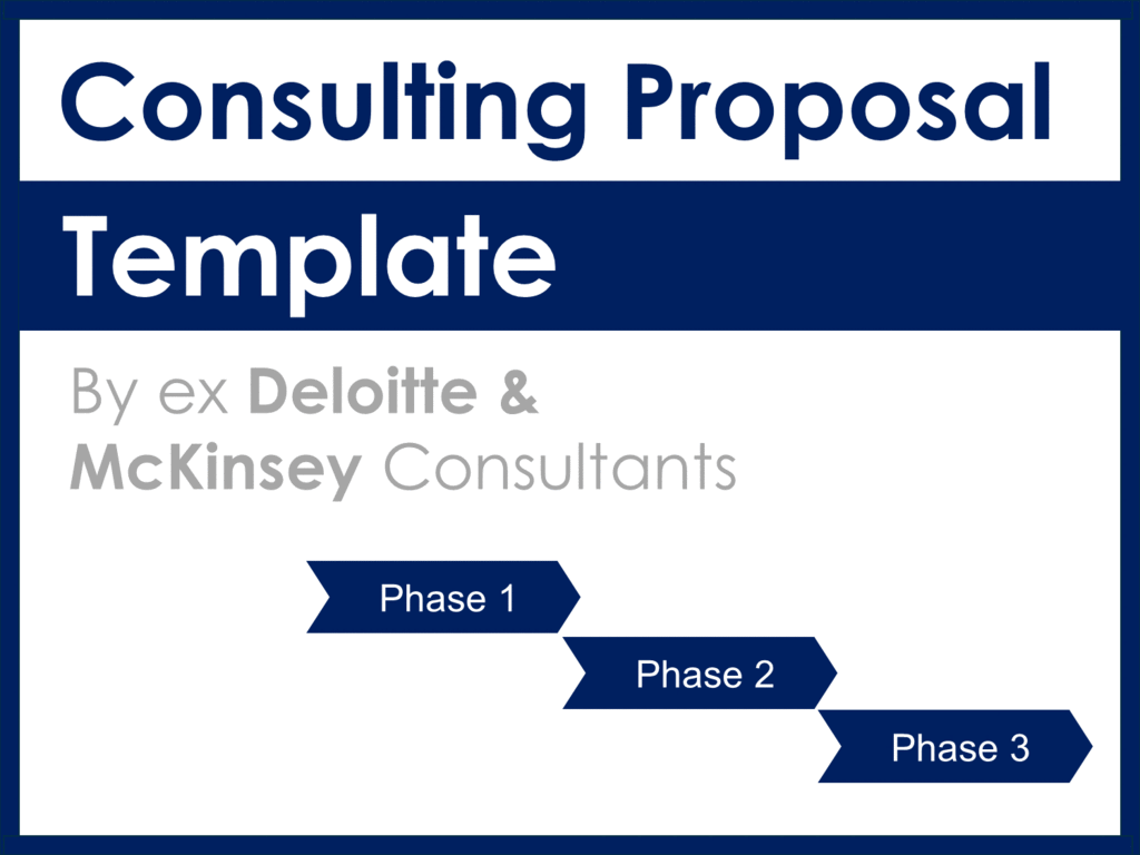 consulting proposal template mckinsey  Project Management Documents, Templates, Tools & Training - consulting proposal template mckinsey