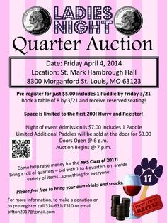 quarter auction flyer template  Quarters Auctions | Tips and Tricks for Fundraising Events ..